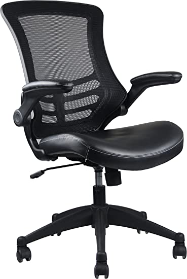 Amazoncom Stylish MidBack Mesh Office Chair With Adjustable