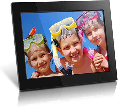Aluratek ADMPF315F 15 Inch Digital Photo Frame – Black