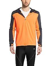 Ultrasport Chaqueta Deportiva para Hombre - Chaqueta de Running y Ciclismo con Capucha y Cierre de