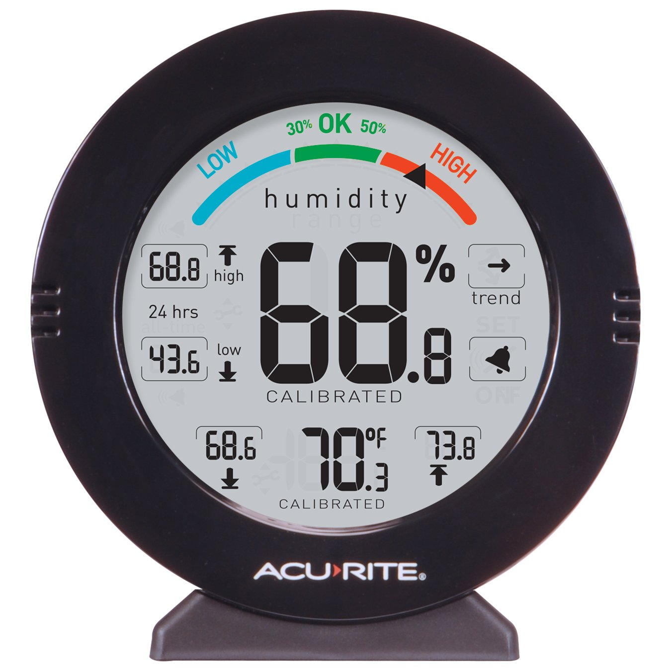 AcuRite 01080 Pro Accuracy Indoor Temperature and Humidity Monitor with Alarms by AcuRite (Image #2)