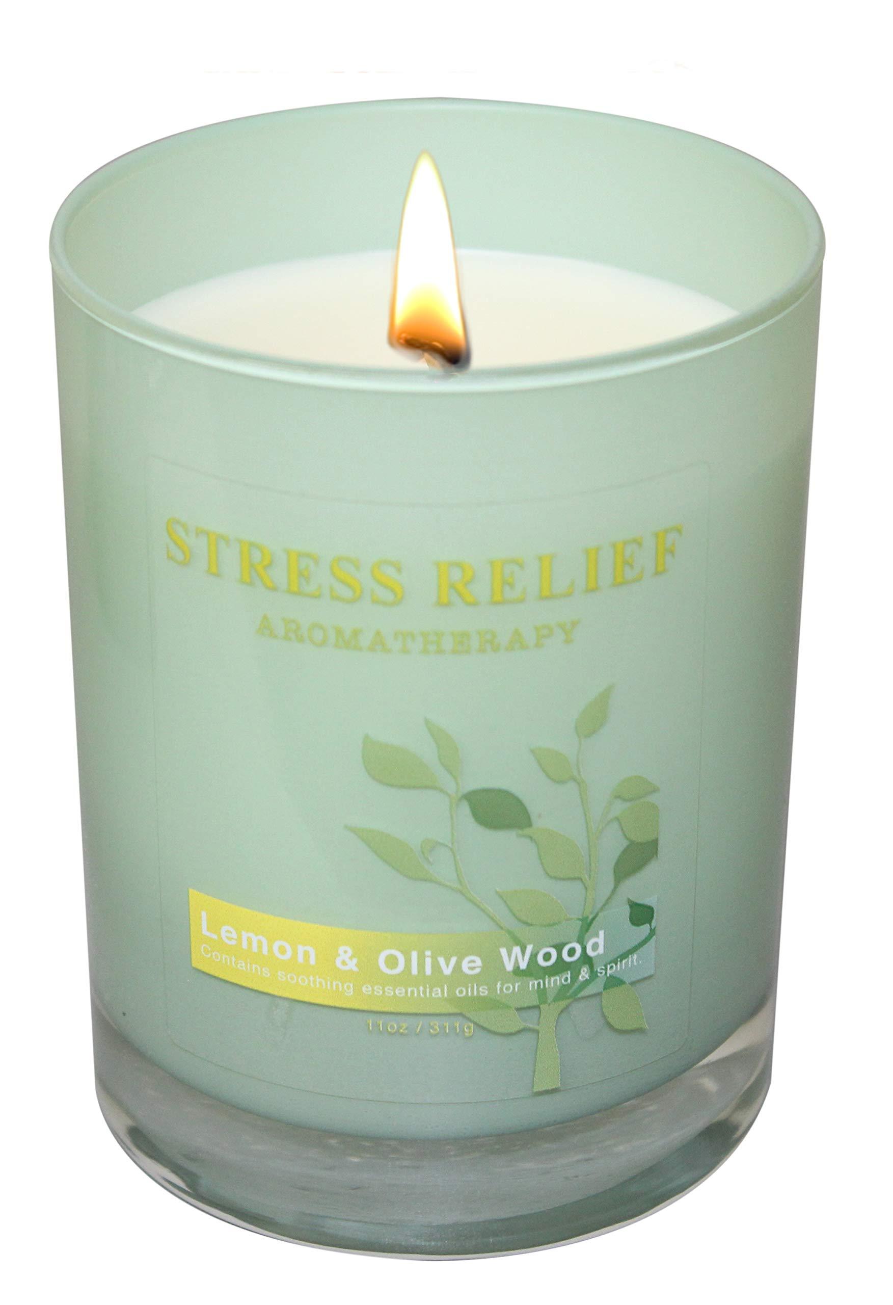 Scentsational Stress Relief (Lemon & Olive Wood)