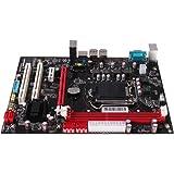 Sharplace Carte Mère Micro-ATX Prend En Charge A1156, Processeurs Série Pour Intel Core i7 / i5 / i3
