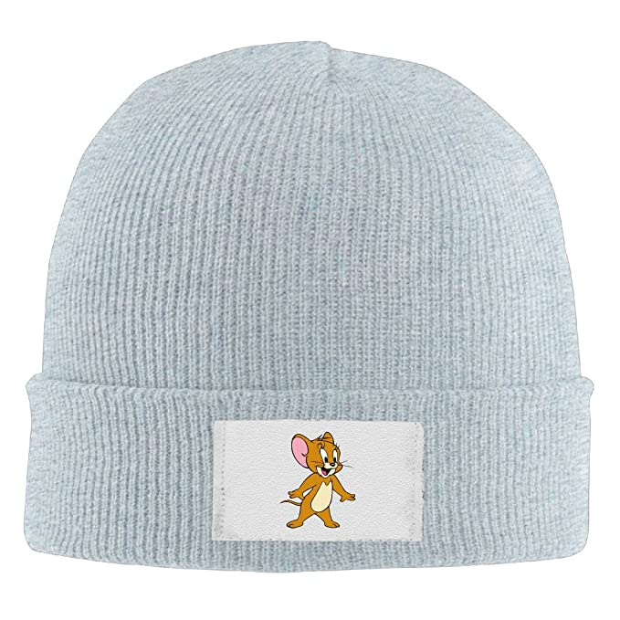291738480e9 Crochet Tom And Jerry Funny Fashion Pattern Logo Beanie Hats  Amazon.es   Ropa y accesorios