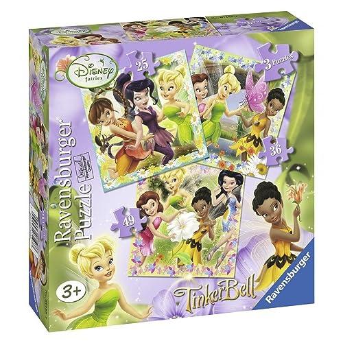 Ravensburger Disney Fairies 3dans une boîte Puzzles