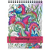 Action Publishing Mythical Enchantments & Wondrous Curiosities Coloring Book -- Large (8.62 x 11.75 inches)