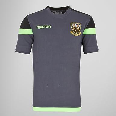 1eb21bf2 Macron Northampton Saints 2017/18 Kids Poly Travel Rugby T-Shirt ...
