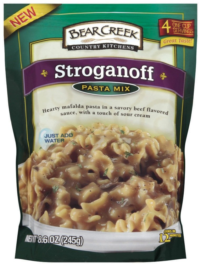 Bear Creek Country Kitchens Pasta Mix, Stroganoff, 8.6 Ounce (Pack Of 6)