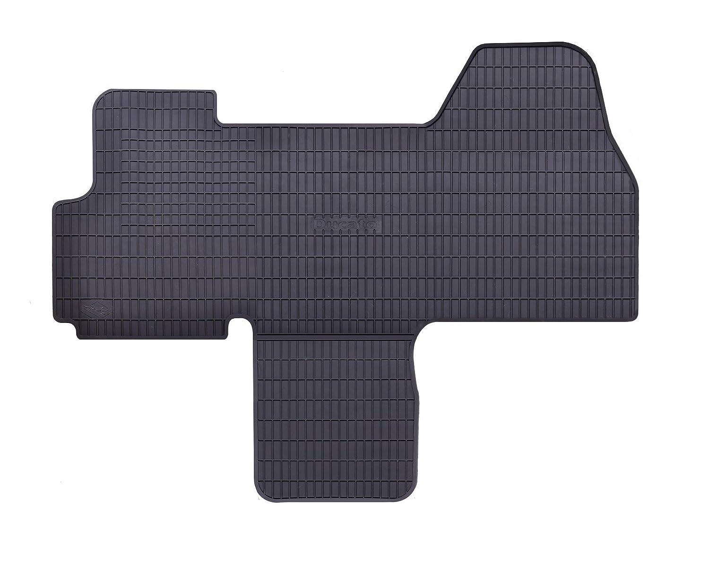 Geyer & Hosaja Gummimatten Gummi Fuß matten 11990892100101 1-tlg Schwarz