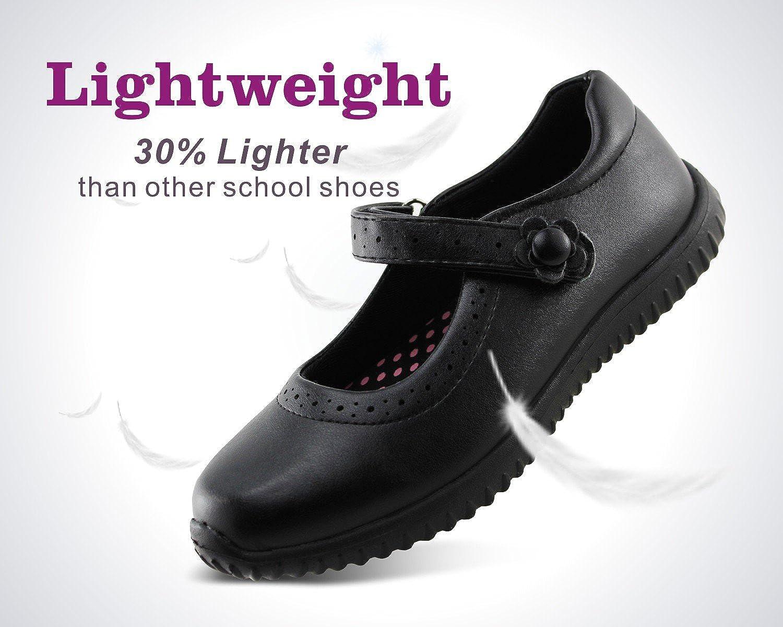 Jabasic Girl's Mary Jane School Uniform Shoes: Shoes