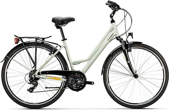 Conor Bicicleta Malibu Mixta Gris. Bicicleta para Ciudad Dos ...