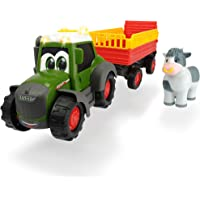 Dickie Toys Happy Fendt Trailer, Tractor para niños