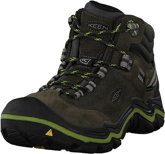 KEEN Womens Wanderer Waterproof Mid High Rise Hiking Shoes