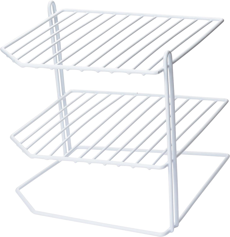 Large Kitchen Helper Cabinet Shelf Storage Organizer White