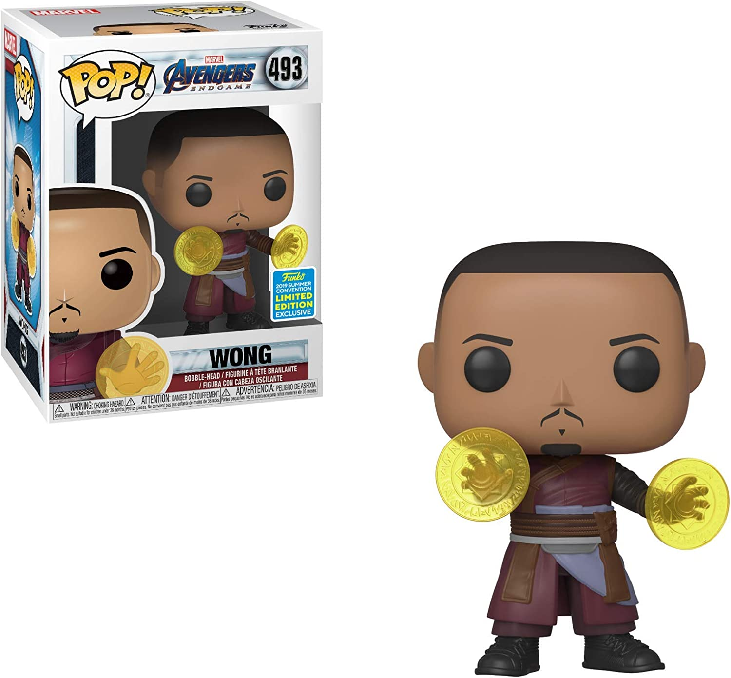 2019 SDCC Summer Convention Exclusive Limited Edition Funko POP Avengers Endgame Wong