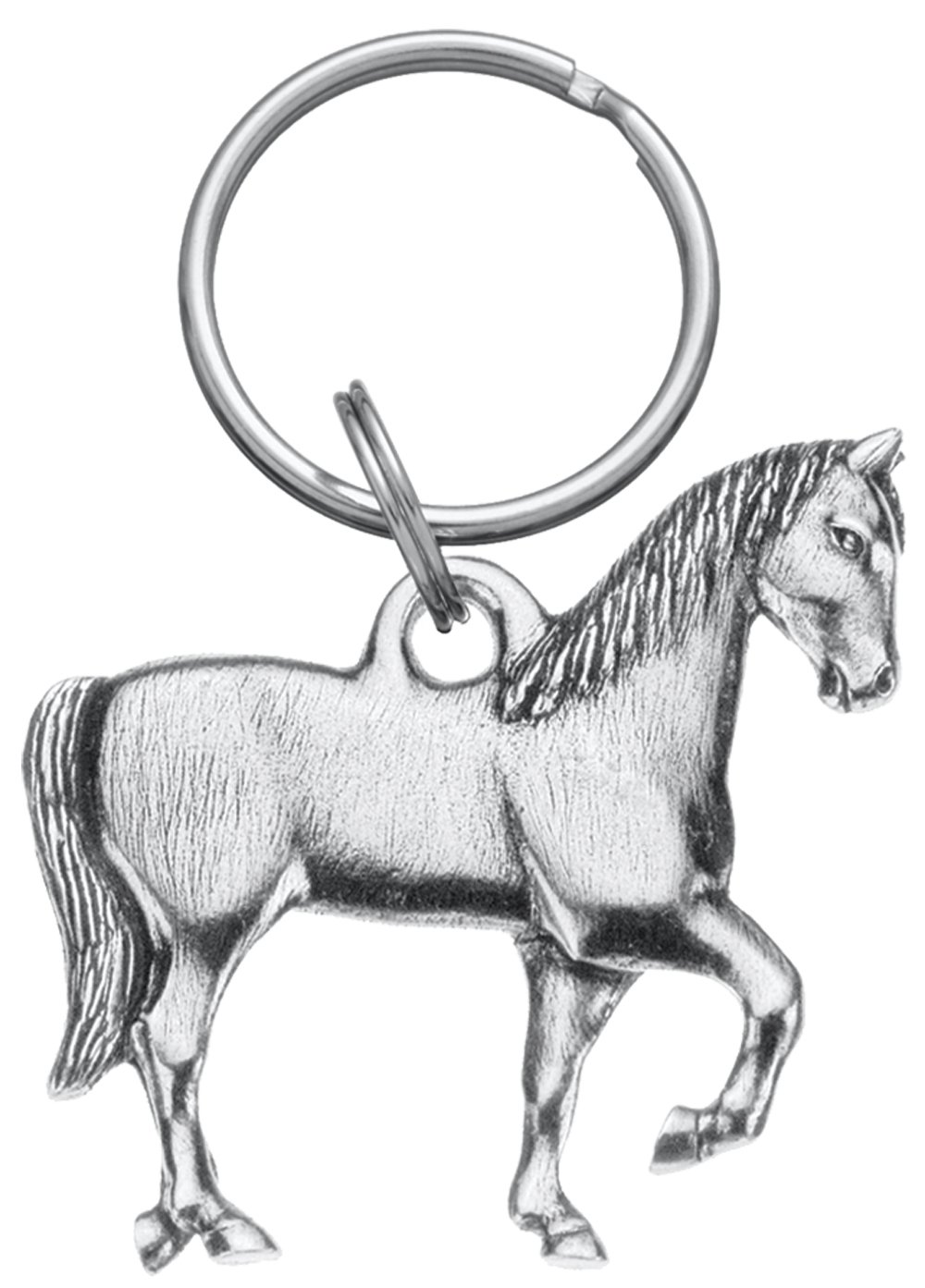 Amazon.com: Danforth – Caballo Pewter Llavero: Office Products