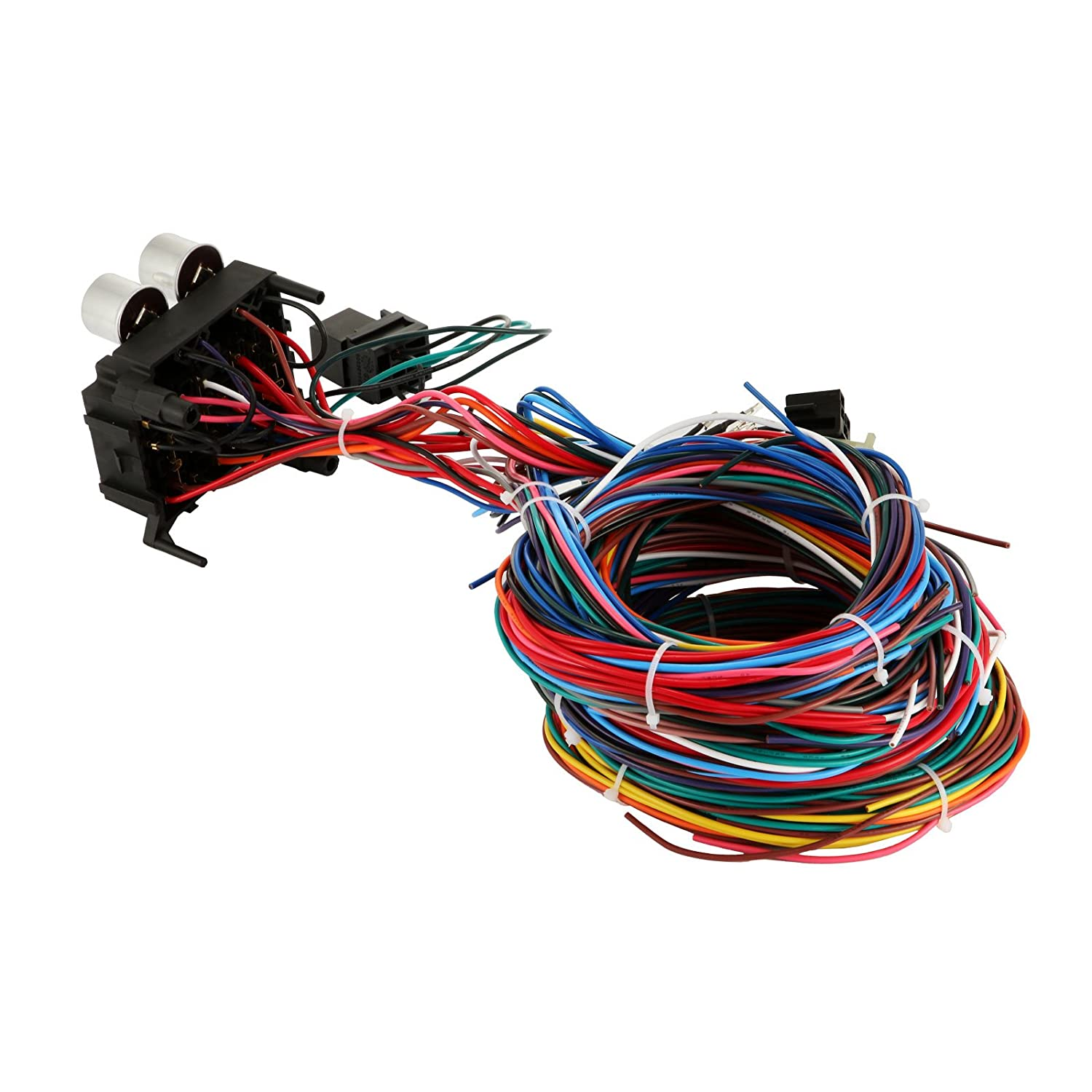 Mophorn Wiring Harness Kit 12 Circuit Hot Rod Universal Painless Diagram Brake Muscle Car Street Xl Wires Automotive
