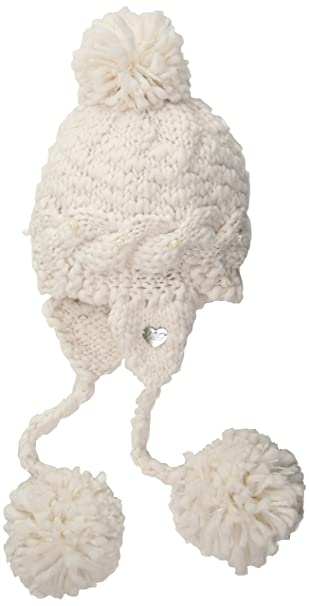 43a2275e82eff3 Betsey Johnson Women's Pearly Girl Earflap HAT, ivory, ONE SIZE at Amazon  Women's Clothing store: