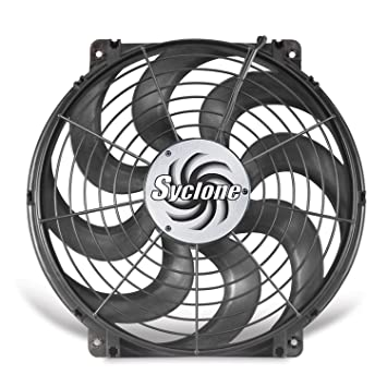 amazon com flex a lite 398 syclone black 16 s blade reversible flex a lite 398 syclone black 16 quot s blade reversible electric fan