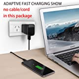 Samsung Adaptive Fast Charging Wall Charger Adapter Compatible with Samsung Galaxy S6 S7 S8 S9 S10 / Edge/Plus/Active, Note 5,Note 8, Note 9 and More (2 Pack) ChiChiFit Quick Charge