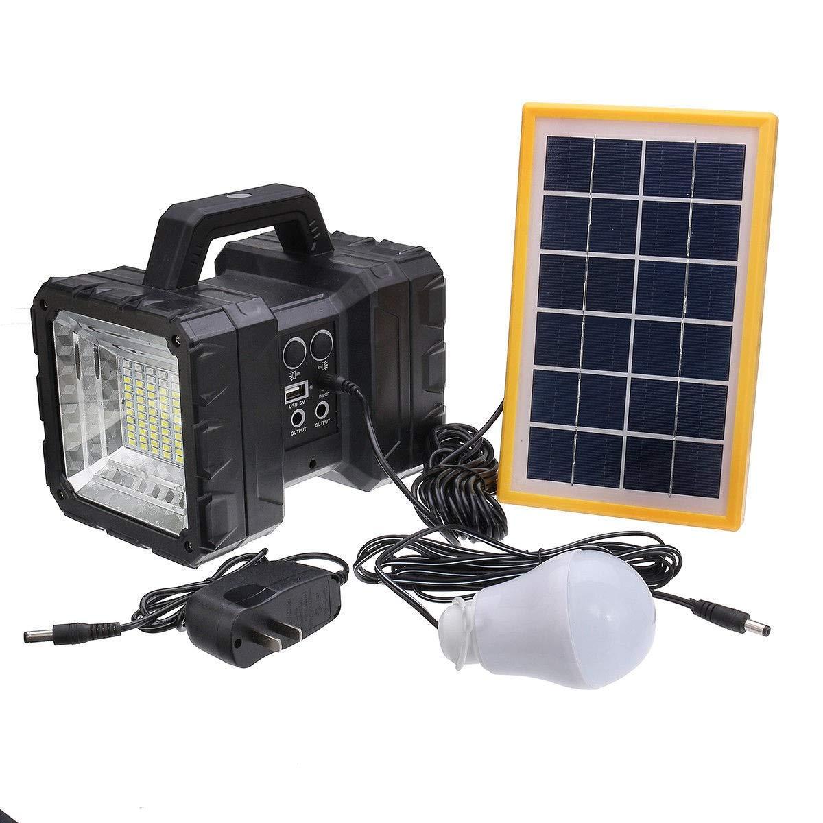 Hkkint ソーラーライト屋外用モーションセンサー高性能ソーラーパネルIP65防水広い照明角度設置が簡単キャンプ応急処置中庭ポータブル照明設置が簡単自由に調節可能な耐久性のあるライト B07RQP5KSZ