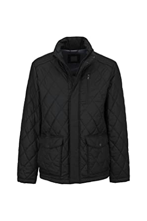 d83988d2a797be Geox Man Jacket Manteau, Noir (Black), Small (Taille Fabricant: 48 ...