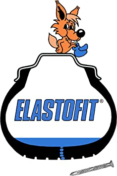 Elastofit Nachfüllpack Pannenset Reifendichtmittel Ersatzflasche Für Alle Pkw 10 Jahre Haltbar Auto