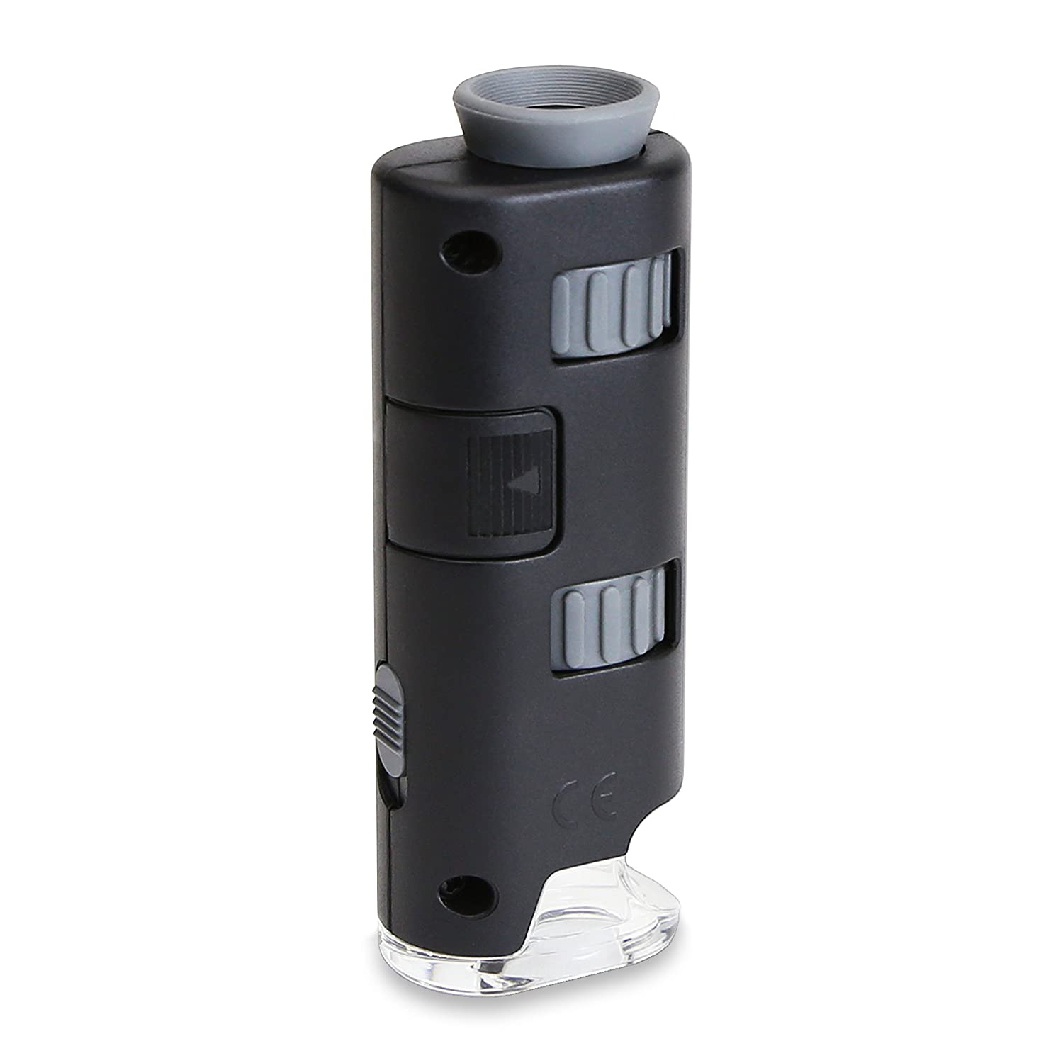 Carson MicroMax Ultra-Portable LED Lighted 60-75x Pocket Microscope