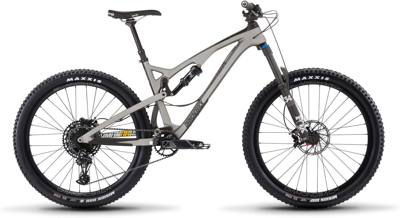 释放4C碳全悬挂山地自行车