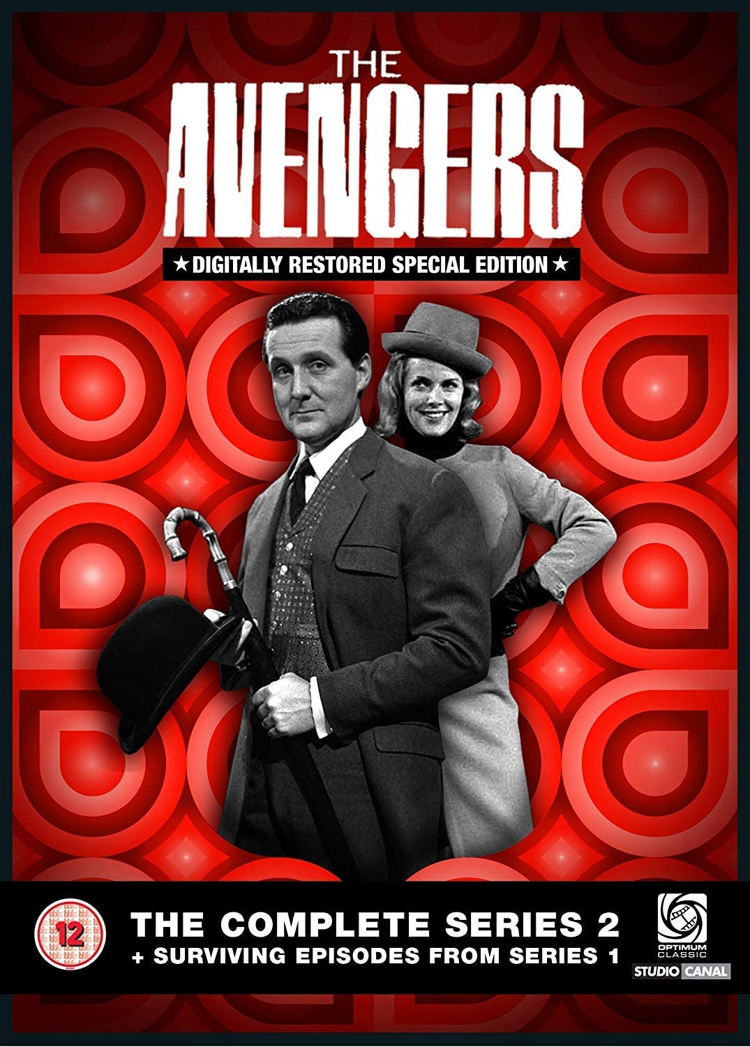 THE AVENGERS COMPLETE COLLECTION SERIES 2 PROOF PROMO CARD DEALER PROMO GG1