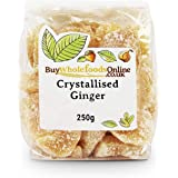 Buy Whole Foods Crystallised Ginger, 250 g