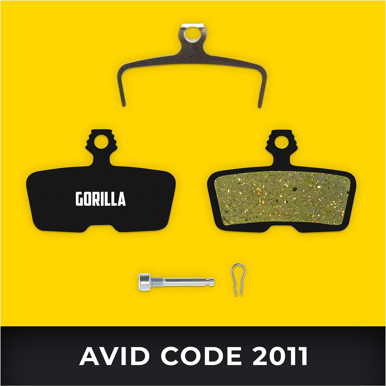 Avid Pastillas de Freno Code /& Code R de 2011 /& SRAM Guide RE para Freno de Disco Bicicleta I Org/ánico /& Sinterizado I Alto Rendimiento I Durable /& Ajuste Pastillas de Freno Bicicleta