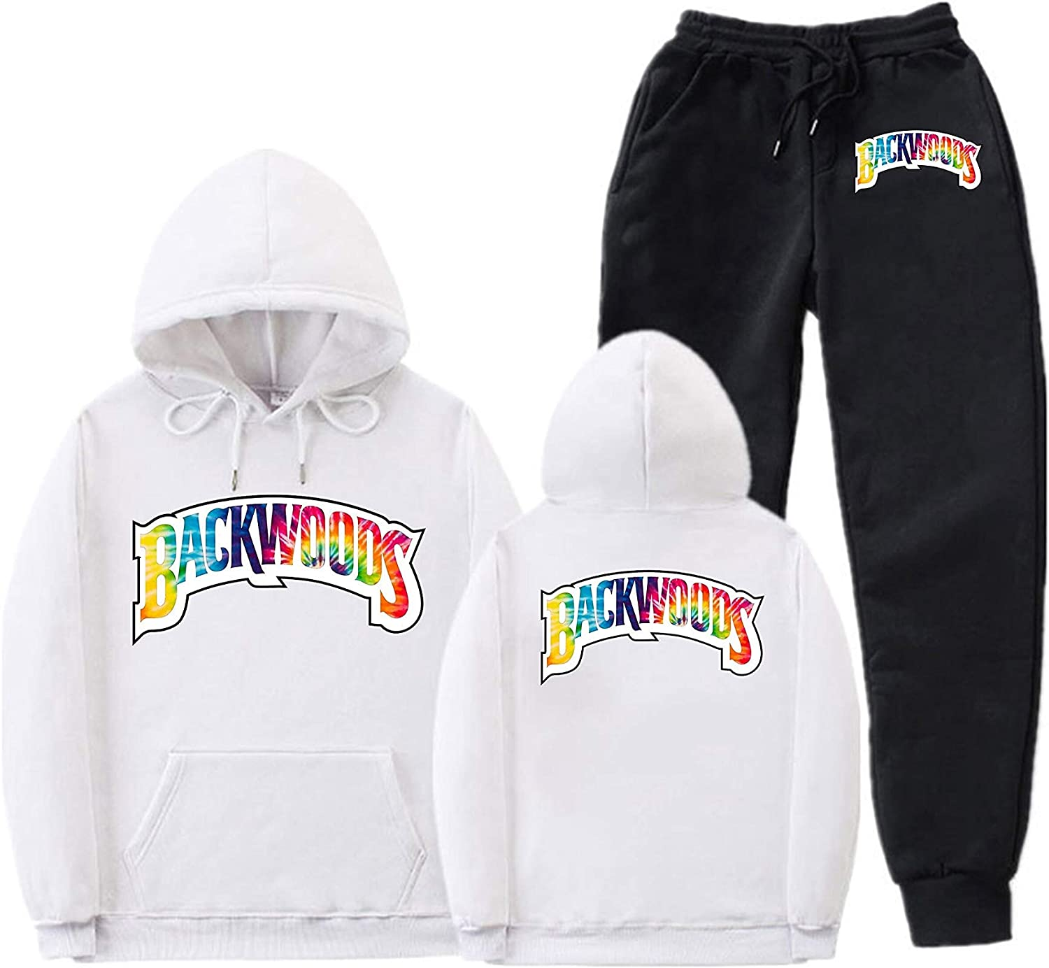 778 Backwoods Hoodies and Fashion Sweatpants Suit Hip Hop Sweatshirts Tracksuit Two Piece for Men Women