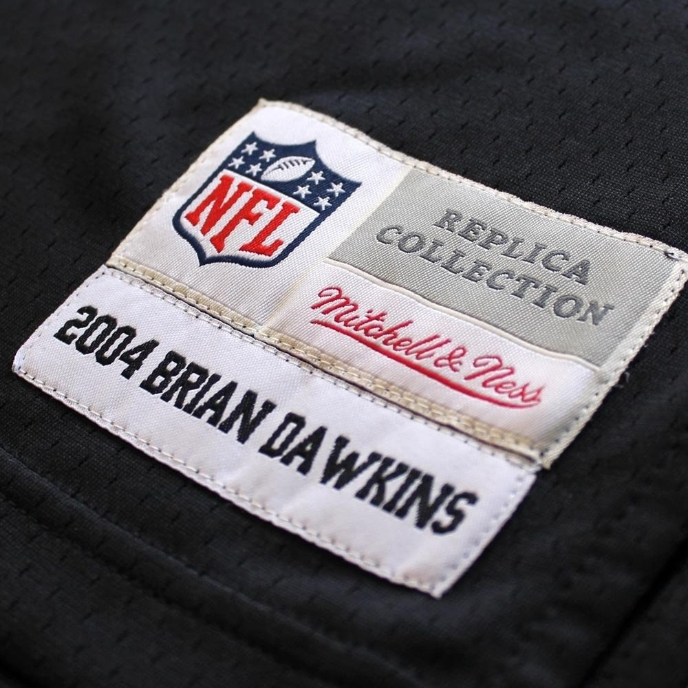 wholesale dealer 0500c 990b3 Mitchell & Ness Brian Dawkins Philadelphia Eagles Thowback ...