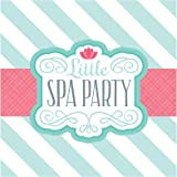 Little Spa Salon Makeover Party Supplies - Lunch Napkins (20)