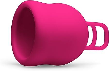 Merula Cup XL strawberry (rosa) - La copa menstrual para los días más fuertes