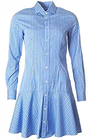 a5f0c4ea19a Polo Ralph Lauren Women s Striped Broadcloth Shirtdress
