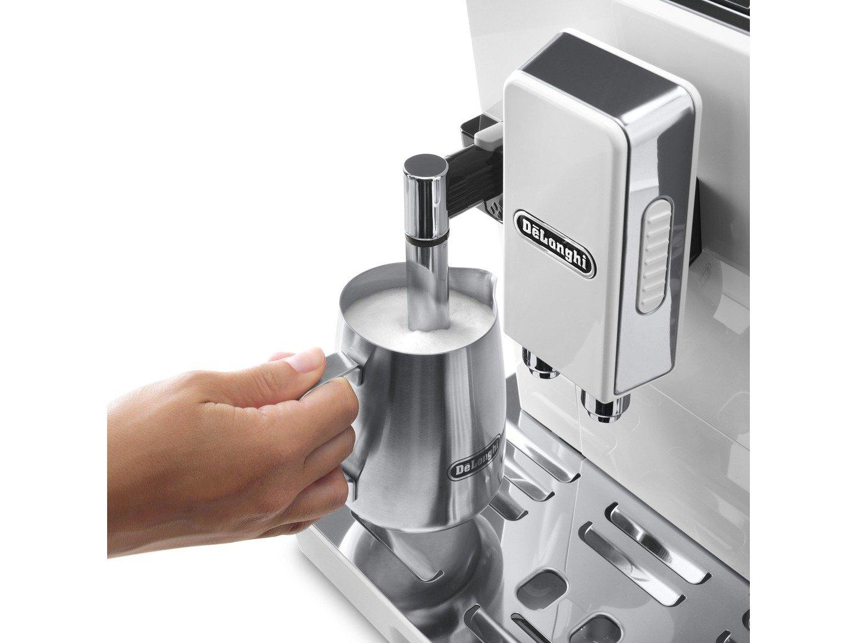 713yZvkACYL._SL1440_ delonghi ecam 45 760 w coffee maker, 1450 w, white silver amazon  at suagrazia.org