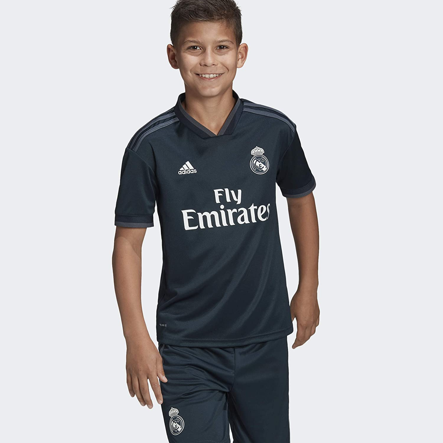 adidas Soccer Youth Real Madrid Away Jersey