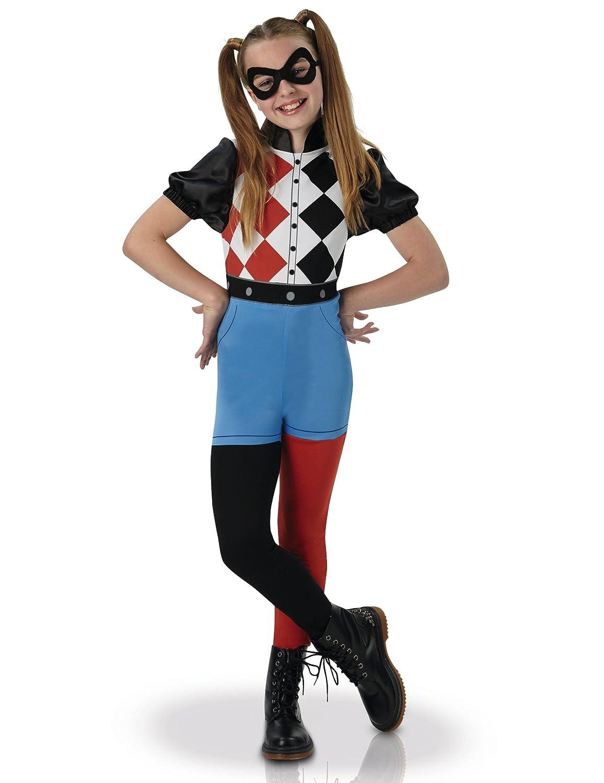 Warner - i-630025s - Disfraz clásico Harley Quinn Superhero Girls ...