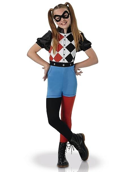 Warner – I 630025S – Costume Classico da Harley Quinn, per Bambine