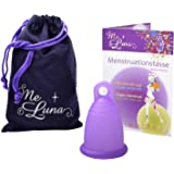 Me Luna Menstruationstasse Classic, Ring, Violett, Größe L