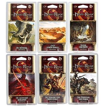 Der Herr Der Ringe Kartenspiel Lcg Der Komplette 7zyklus