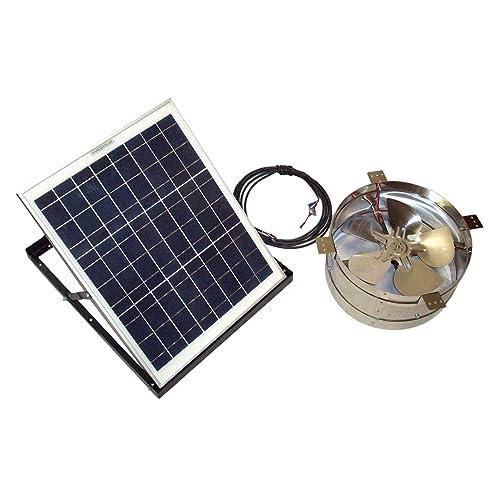 Solar Exhaust Fans Amazon Com