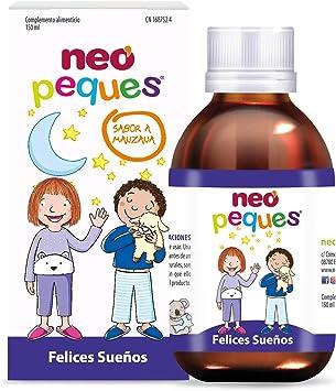 Neo Peques | Jarabe Infantil para Niños Felices Sueños 150 ml | A Base de Melisa,