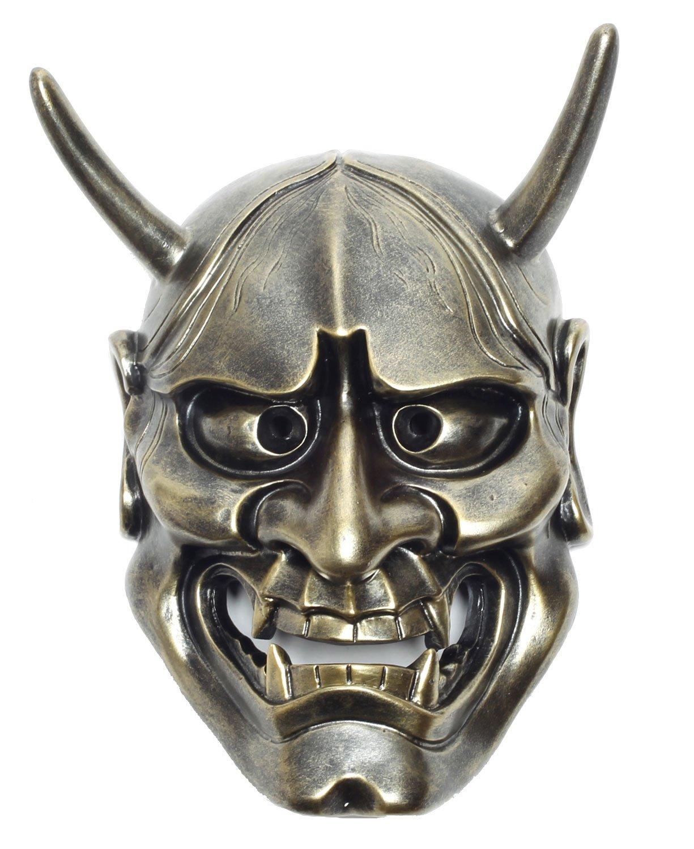 StyleCos 般若 はんにゃ お面 仮面 飾り インテリア 壁掛け 日本 伝統 大サイズ (銅) B016D8WRCG銅
