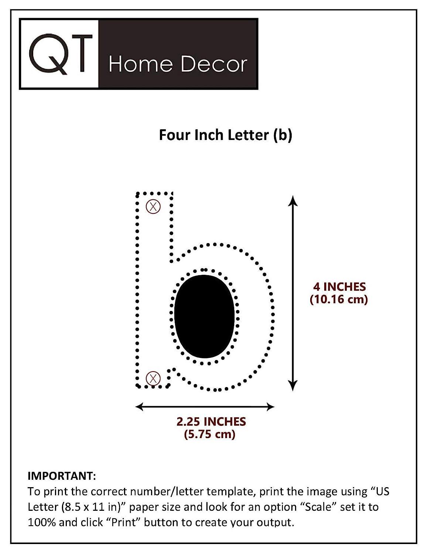 Num/éro 6 Six // 9 Neuf Acier Inoxydable Facile /à installer et en solide 304 QT Num/éro de Maison Moderne Apparence Flottante PETIT 10 Centim/ètres NOIR