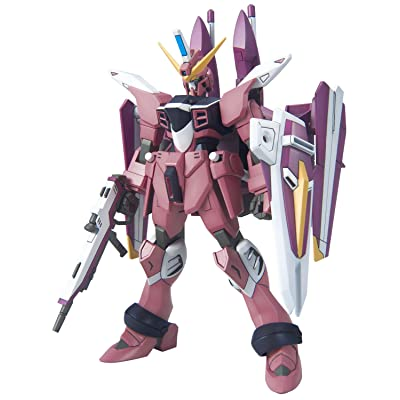 Bandai Hobby HG R14 ZGMF-X09A Justice Gundam Model Kit (1/144-Scale): Toys & Games