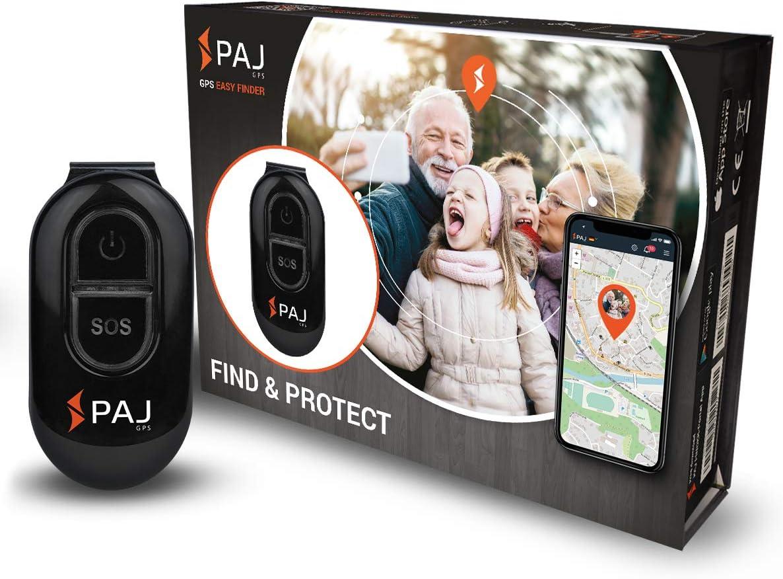 PAJ GPS Easy Finder - GPS Tracker para Personas con Demencia - 5 días de duración de batería (10 en Modo de Espera) - con Protección de Apagado