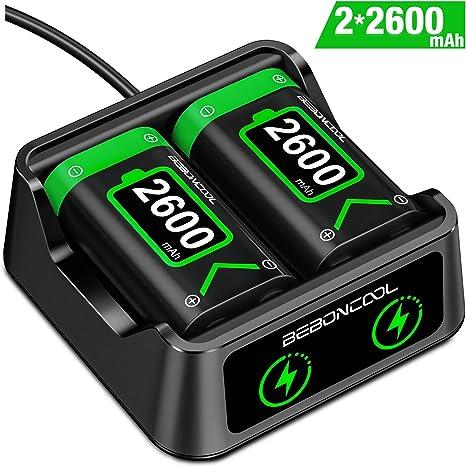 BEBONCOOL - Batería recargable para mando de Xbox One / One / One ...