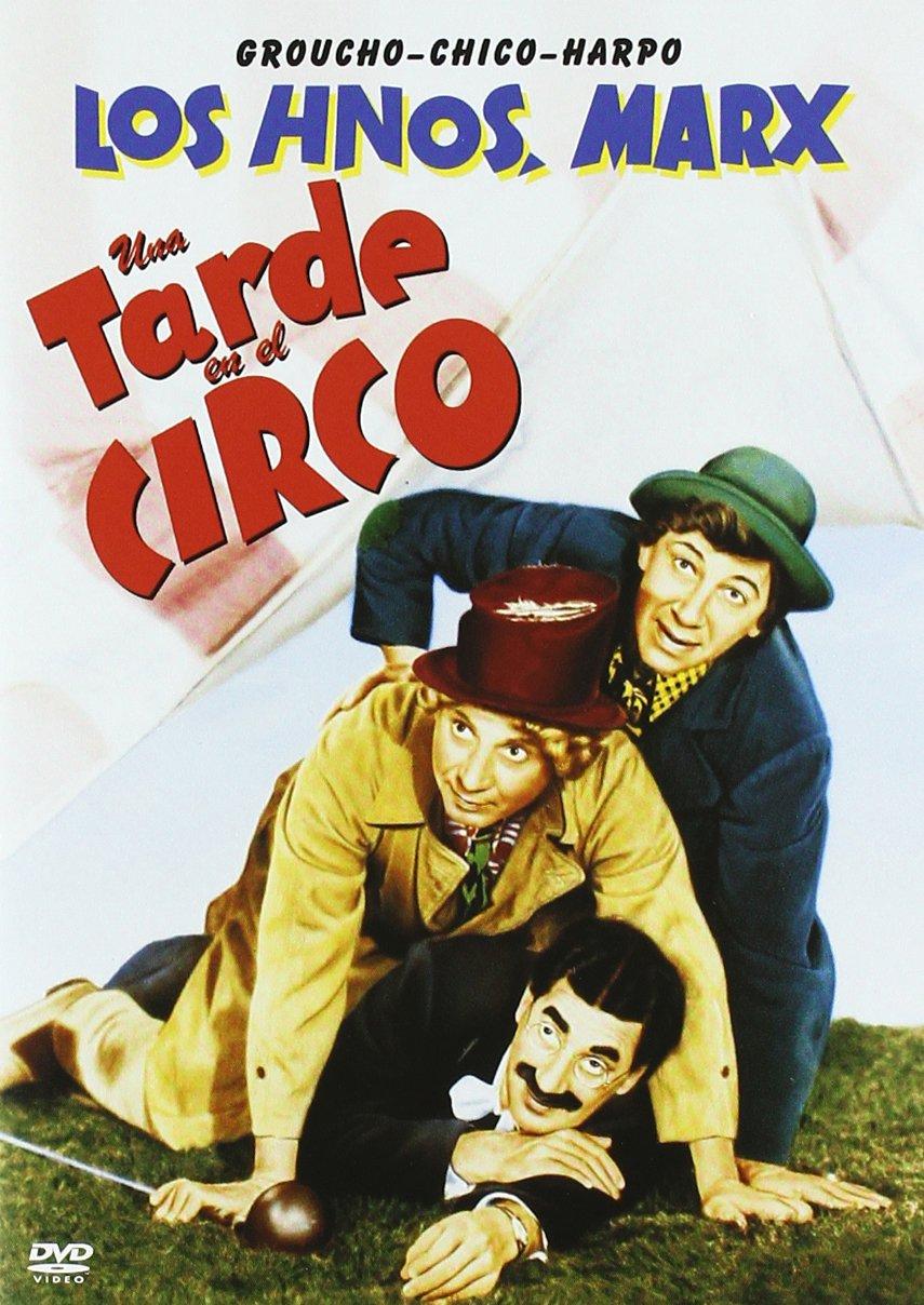 Una Tarde En El Circo [DVD]: Amazon.es: Groucho Marx, Chico Marx ...